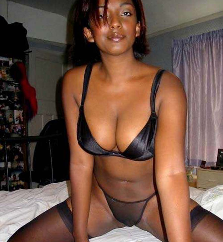 naked black ex gf