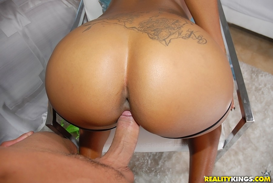 Big juicy black ass