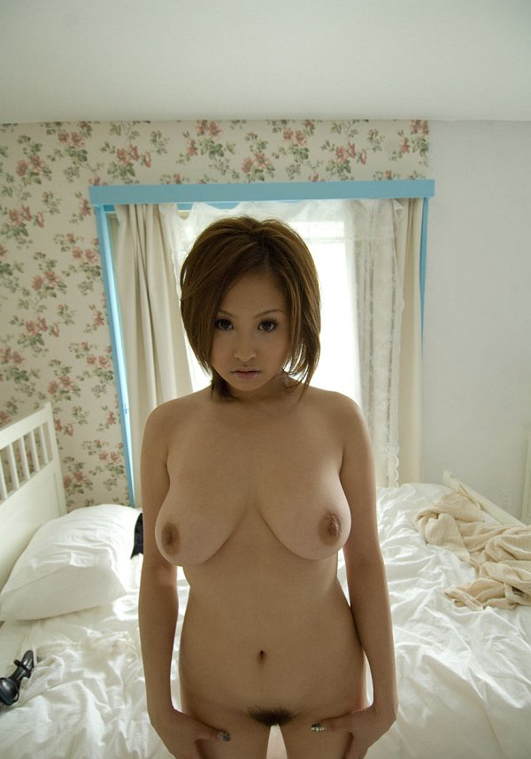 Japanese close up nude