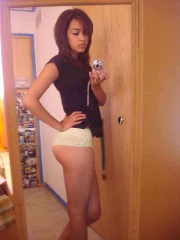 Shot girls naked latina self