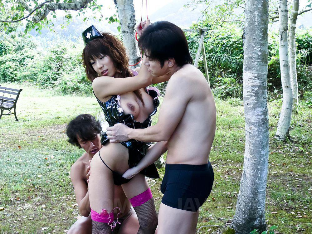 Public japan group sex