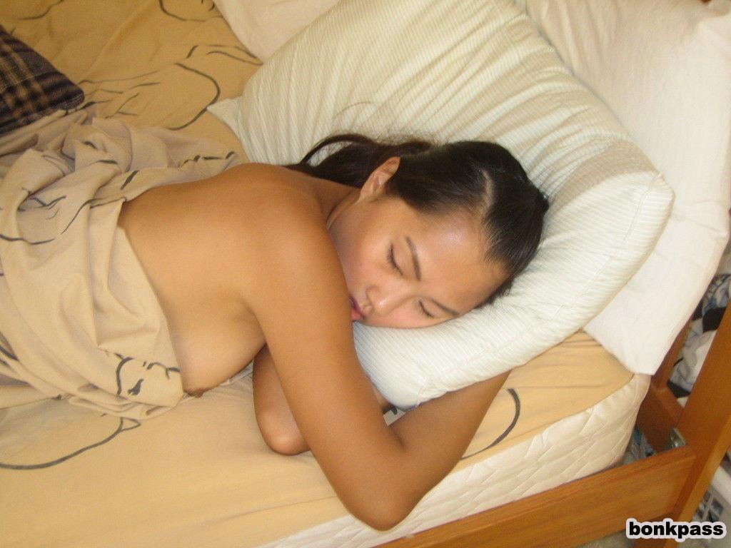 Girl nude japanese sleeping